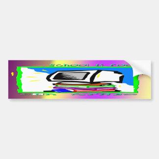 School is Cool 6th Grade - PC Bumper Sticker