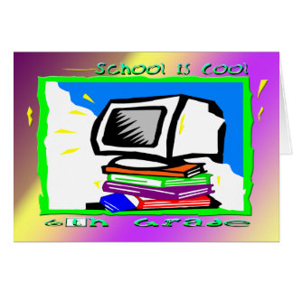 School is Cool 6th Grade - PC Card
