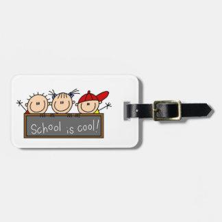 School is Cool Bag Tag