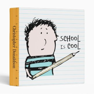 School is Cool Binder (1 inch)