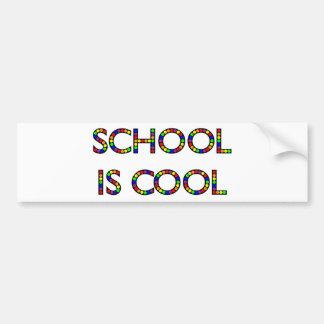 School is Cool Bumper Sticker