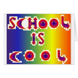 School is Cool Card