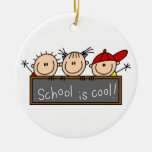School is Cool Christmas Ornament