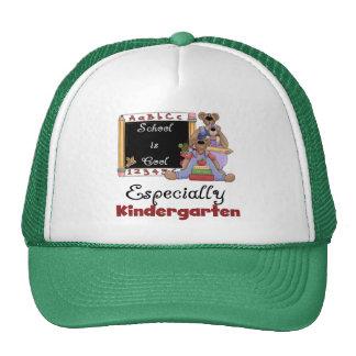 School is Cool Especially Kindergarten Trucker Hat