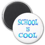 School is Cool Fridge Magnets