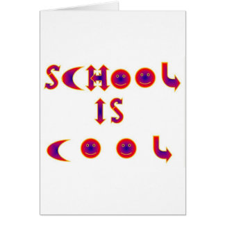 School is Cool items Card