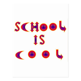 School is Cool items Postcard