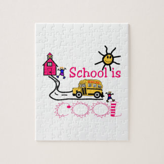 School Is Cool Jigsaw Puzzle