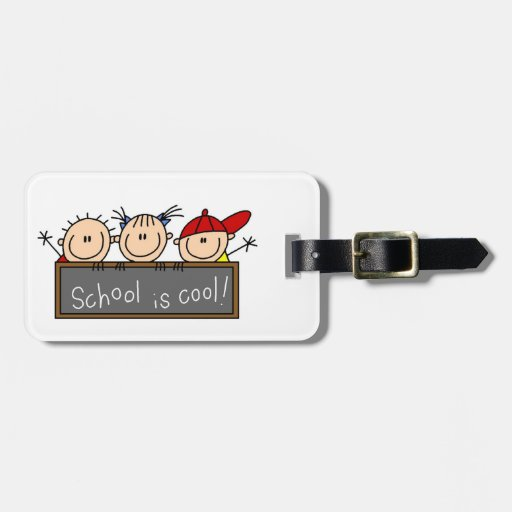 School is Cool Luggage Tags