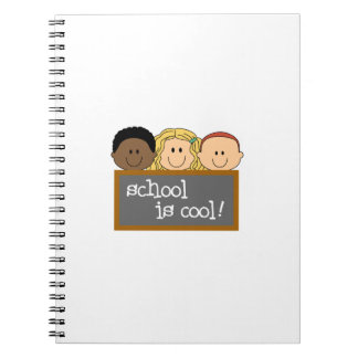 SCHOOL IS COOL SPIRAL NOTE BOOKS