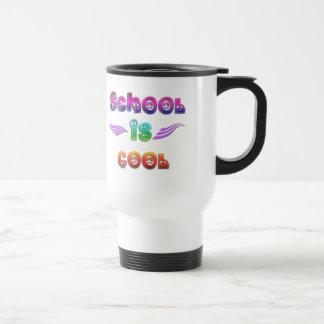 School is Cool - Peace 15 Oz Stainless Steel Travel Mug