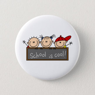 School is Cool Pinback Button