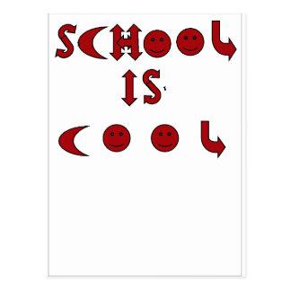 School is Cool  Postcard