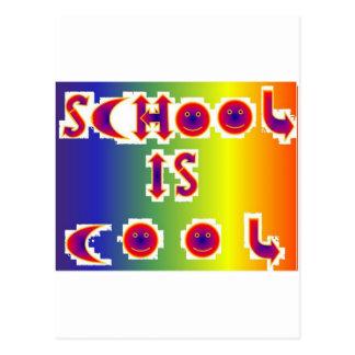 School is Cool Post Card