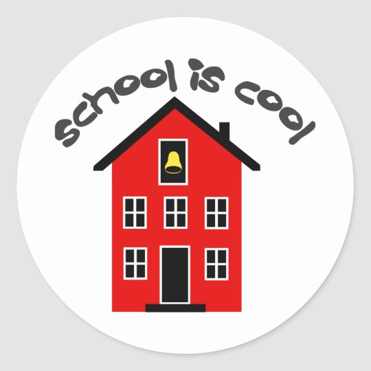 School is Cool Sticker