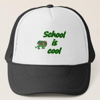 SCHOOL IS COOL TRUCKER HAT