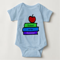 School is for success, Back to School Baby Bodysuit
