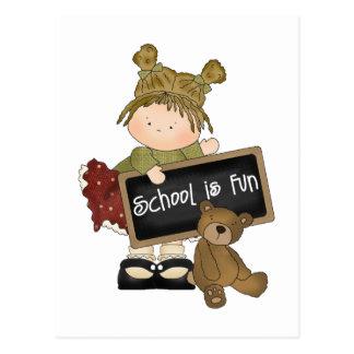 School Is Fun School Gift Postcard