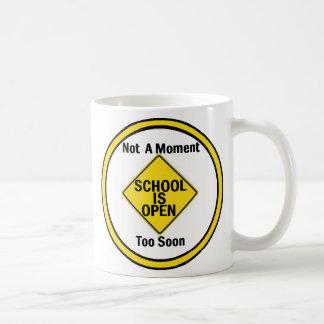 School is Open Mug
