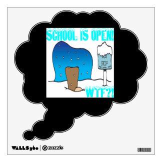 School Is Open Room Decal