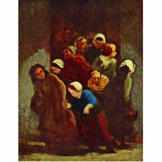 School Is Out By Daumier Honoré Photo Cut Out