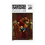 School Is Out By Daumier Honoré Postage