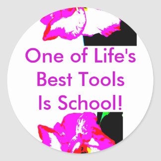 School is the tool Sticker...