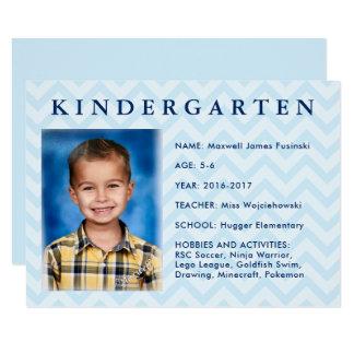 School Keepsake Box | Folder Label Cards