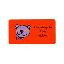 School Labels ( fun pig )
