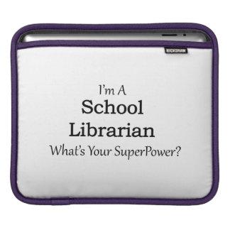 School Librarian iPad Sleeve