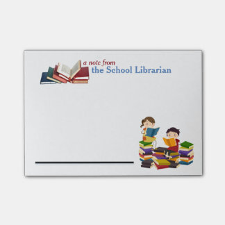 School Librarian Post-it Notes Post-it® Notes