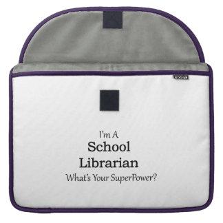 School Librarian Sleeve For MacBook Pro