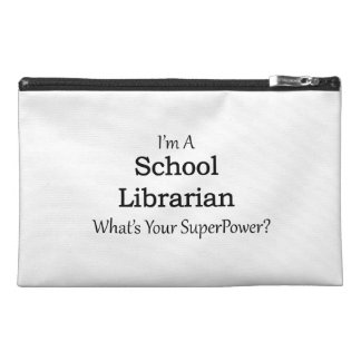 School Librarian Travel Accessories Bags