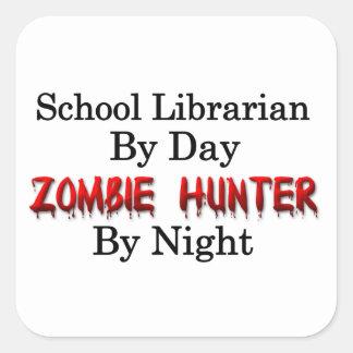School Librarian/Zombie Hunter Stickers