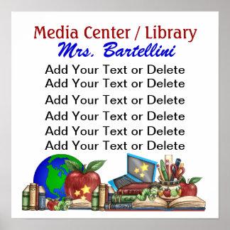 School / Library / Classroom Poster - SRF