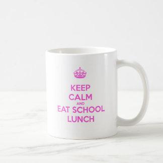School Lunch Lady Loves Nutrition Coffee Mug