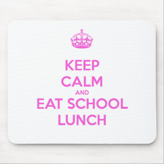 School Lunch Lady Loves Nutrition Mouse Pad