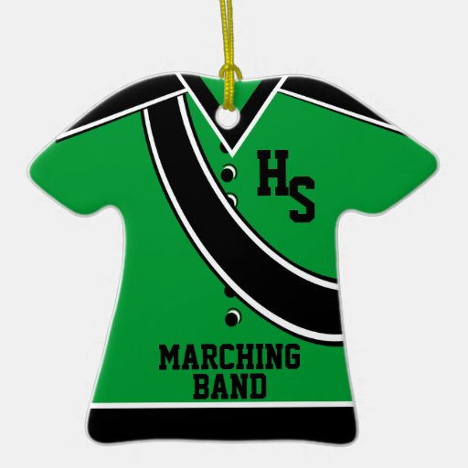 School marching band christmas ornament zazzle