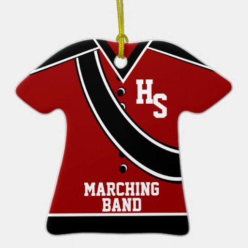 School Marching Band Ornament