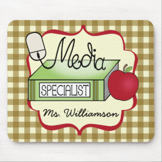 School Media Specialist Mouse Pad