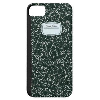School Note Book iPhone SE/5/5s Case