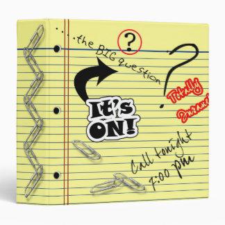 School Note Pad Binder Binder