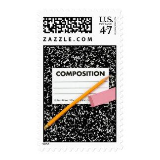 School Notebook Postage