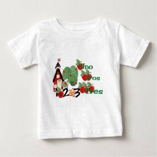 School & Numbers (Baby) Baby T-Shirt