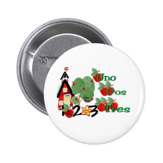 School & Numbers-Button Pinback Button
