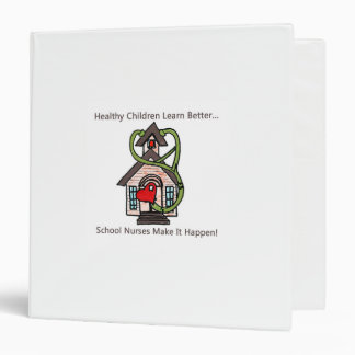 school nurse 3 ring binder