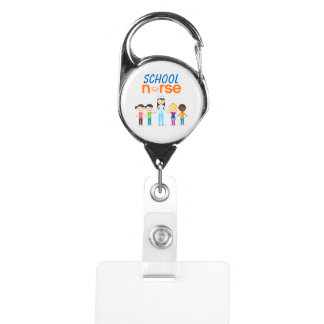 School Nurse Badge Holder