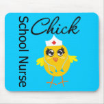 School Nurse Chick v1 Mouse Pad