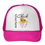 School Nurse Chick v2 Trucker Hat