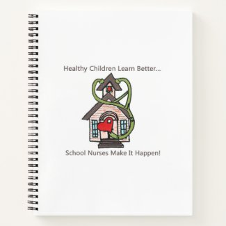 School Nurse daily journal, calendar, notebook etc